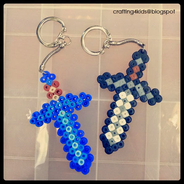 Crafting Ideas For Kids Minecraft Hama Beads
