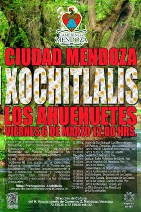 Ciudad Mendoza los espera con los brazos abiertos éste viernes 6 al tradicional XOCHITLALIS