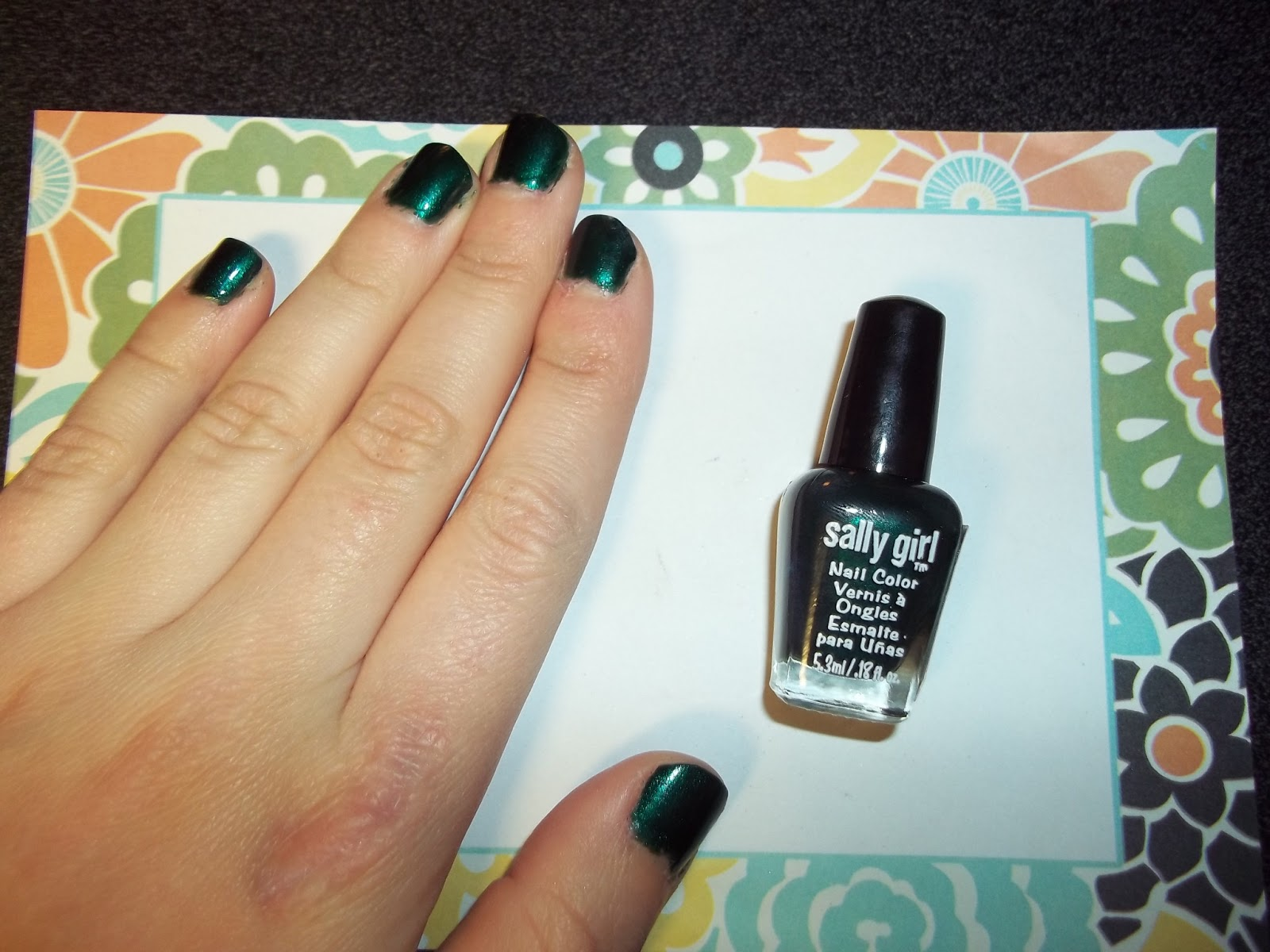 Budgeted Beauty Buzz: Sally Girl and LA Colors Nail Polish Review ...