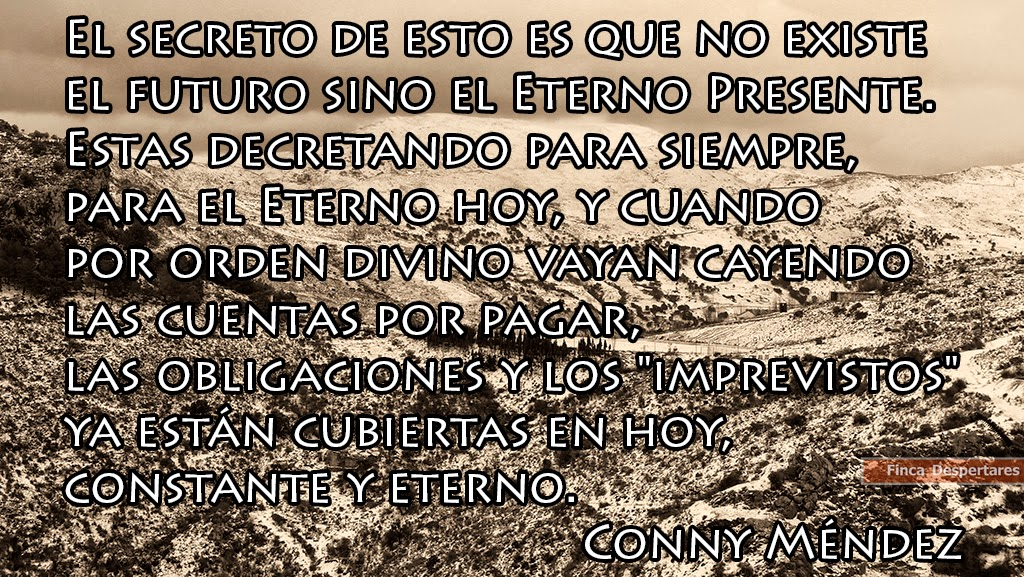 Finca Despertares - Conny Méndez