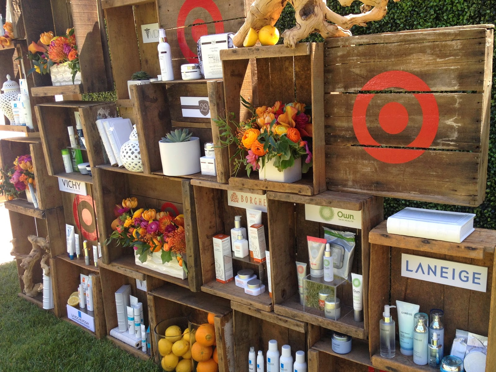 Target Beauty Premium Skin Care Launch Garden Party