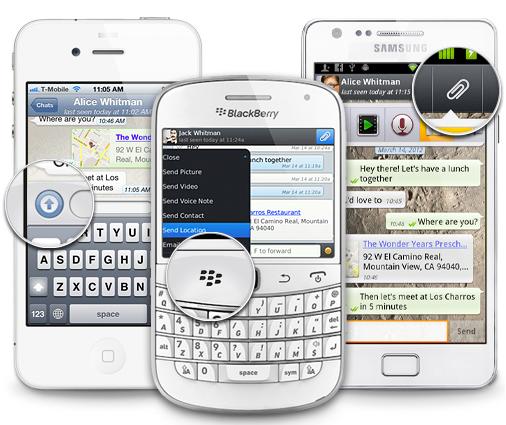 Whatsapp compartir ubicacion