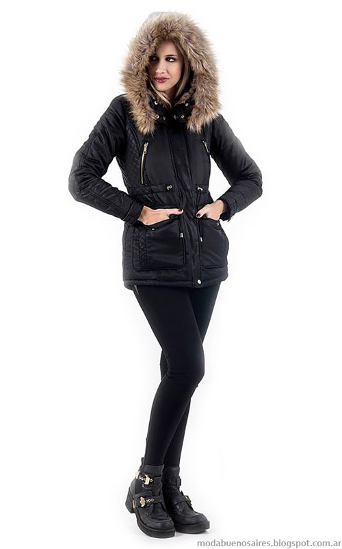 Camperas de invierno 2014. Ropa de moda 2014, colección Activity otoño invierno 2014.