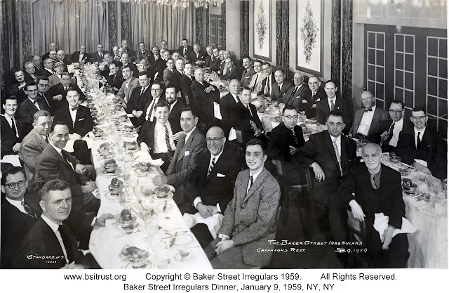 The 1959 BSI Dinner group photo