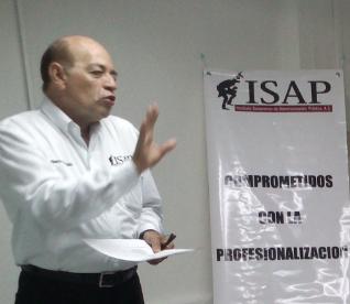Alberto Haaz D. en el ISAP