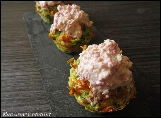 cupcakes aux radis