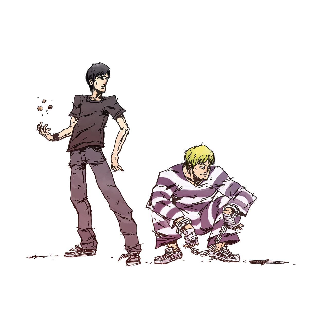 Momochi y Cody