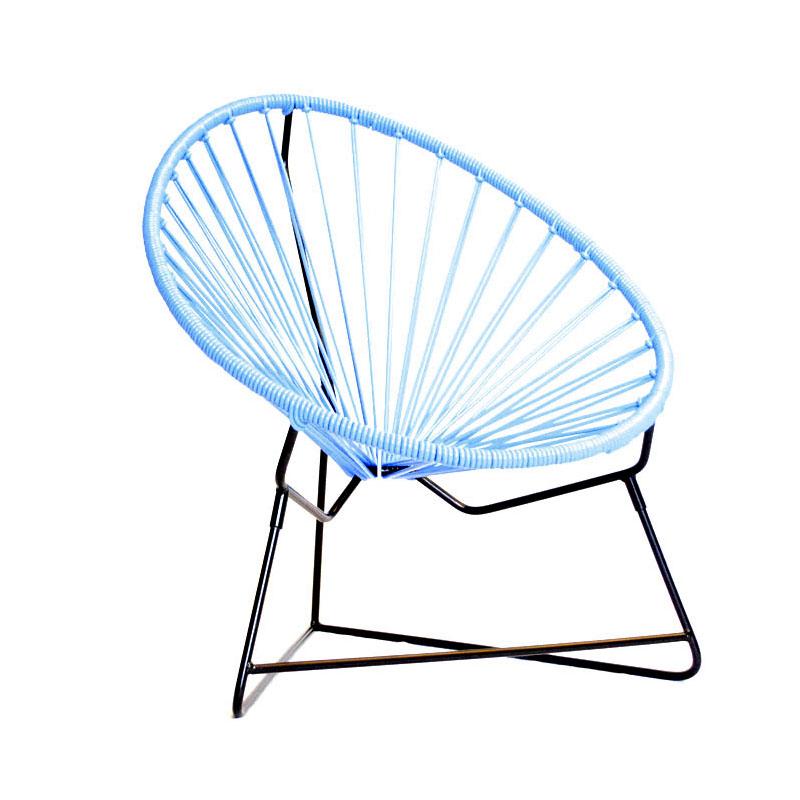 Mobilier scoubidou le fauteuil acapulco pour enfant - Fil scoubidou pour chaise ...