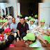 Lm JB Nguyễn Sang chuyến bác ái 500 phần quà. Tại Gx Tân Dinh