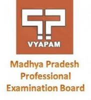 www.vyapam.nic.in Madhya Pradesh Professional Examination Board