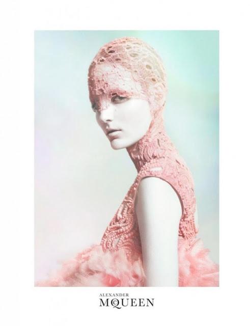 Alexander McQueen advertising 2012