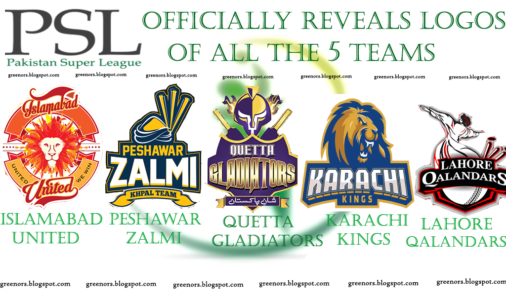 PSL Officially Reveals Logos of All the 5 Teams ...