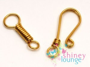 wire work jewelry clasp tutorial