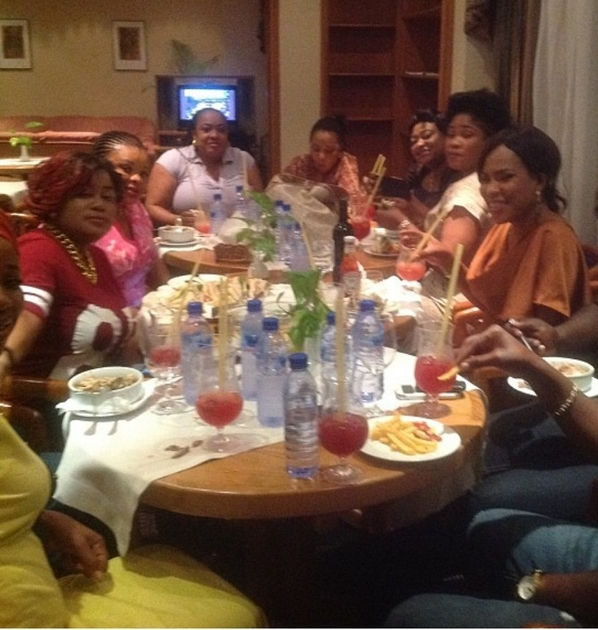 fathia balogun's 45th birthday party
