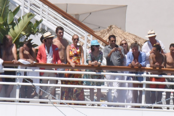 Pierre Casiraghi And Beatrice At The Monte Carlo Yacht Club