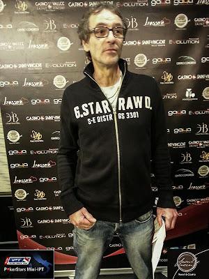 Paolo Remorini, vincitore del torneo free roll per il Mini IPT