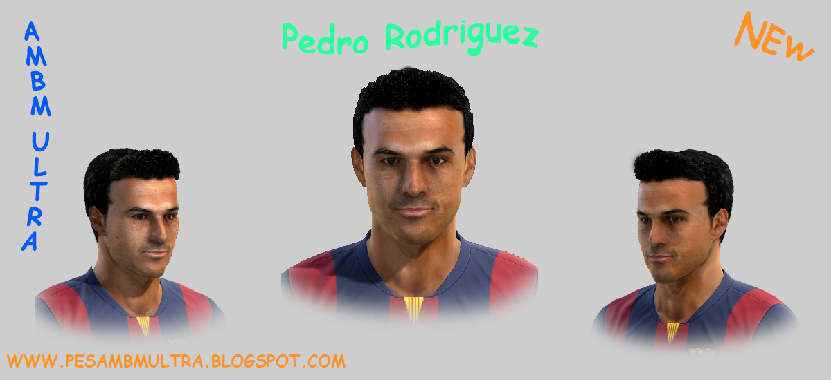 PES 2013 Pedro Rodrigues Face By ambm ultra