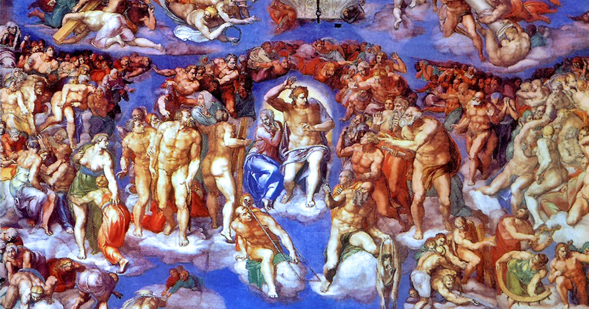 michelangelos fresco the last judgment essay University while this essay was in press leo steinberg's provocative article   gigantic fresco of the last judgment would have stemmed from a rather modest.