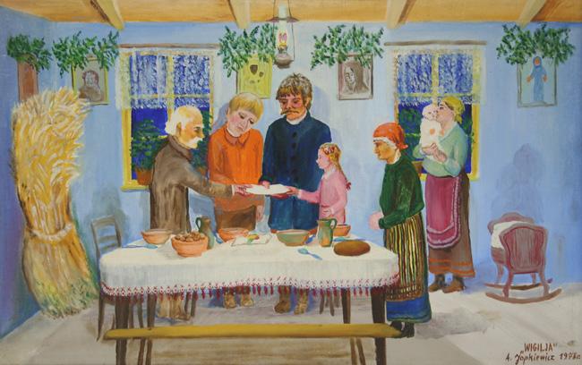 Znalezione obrazy dla zapytania święta bożego narodzenia wieczerza wigilijna