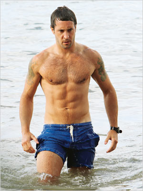 Alex O Loughlin Shirtless Hawaii Five 0 2010 Alex O