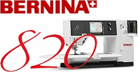 I quilt on a Bernina 820