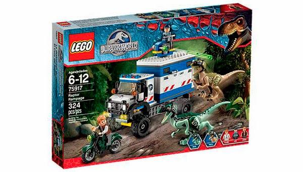 LEGO Ref. 75917 El Caos del Raptor