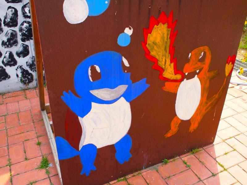 Ewha Summer Studies Pokemon Art Drawing Petite France Seoul South Korea lunarrive travel blog