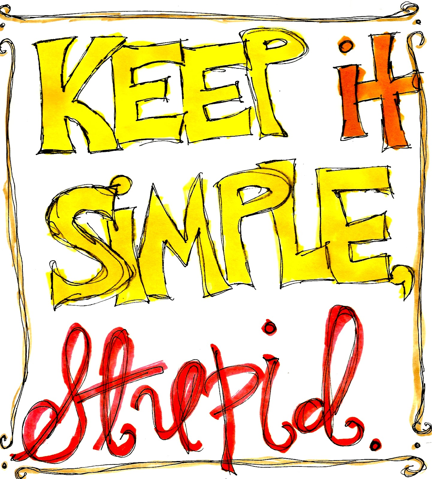 Keep It Simple Stupid Makes Art With Her Hands Makes