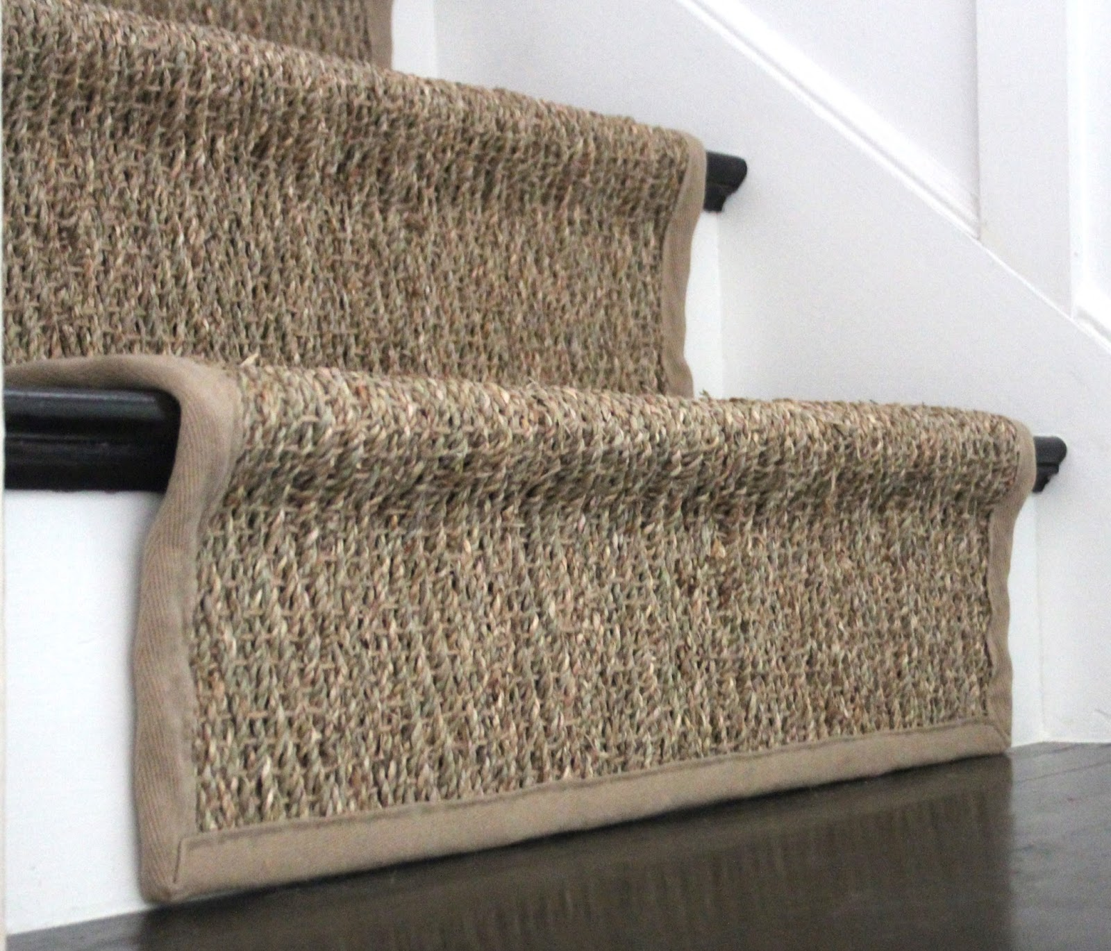 How To Install A Seagrass Stair Runner Shine Your Light
