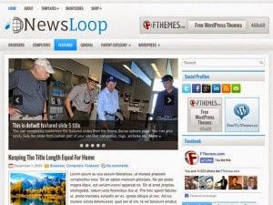 NewsLoop - Free Wordpress Theme