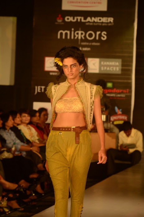 hyderabad fashion week beautiful model cute stills