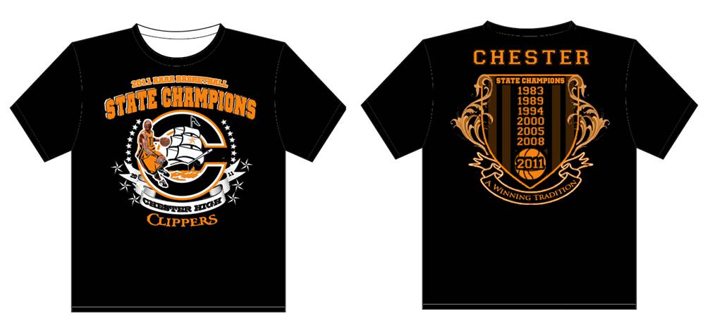 The chester city blog state championship tee shirts and for High school basketball t shirts