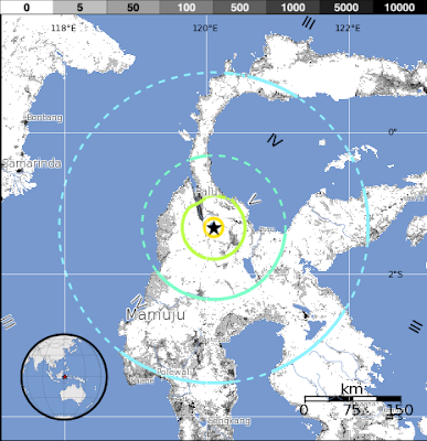 Epicentro terremoto Indonesia 18 de Agosto 2012