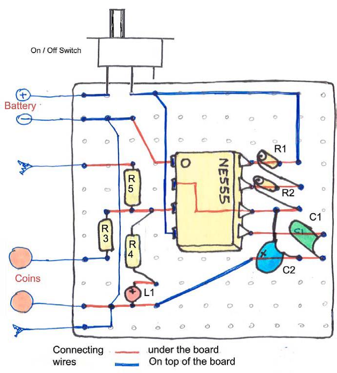 Circuito Zapper : Como construir um zapper manual de