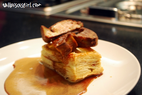 Pan Fried Foie Gras with Caramelized Apples
