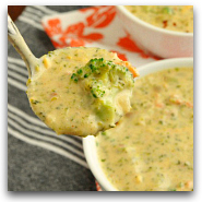 Panera Broccoli and Cheese Soup