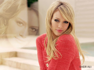 Hillary Duff blonde hairstyle trends for women