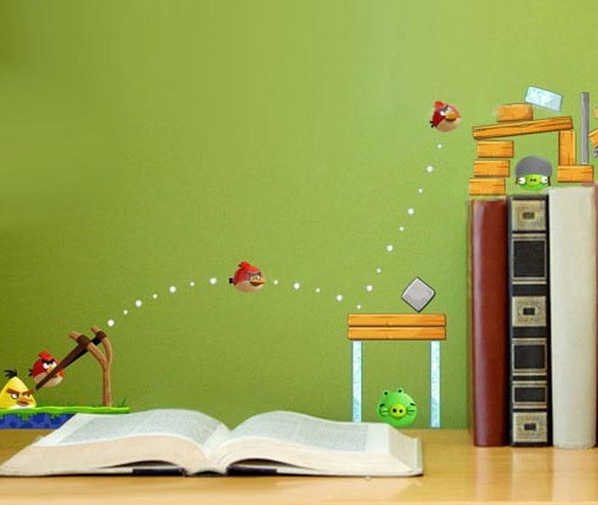 angry birds bedroom decorating for your child