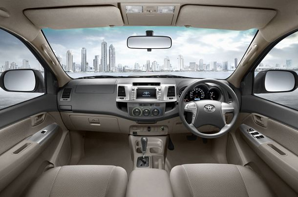 Toyota Fortuner diesel SUV's VTN. As well as the continuation of