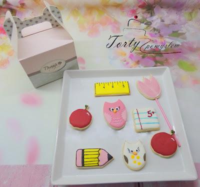 Słodki zewstaw ciasteczek