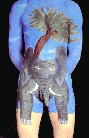 teen-naked-man-body-paint-nudes-model-warren