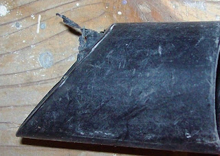 Odkurzacz WD 3.200 KÄRCHER ssawka szczelinowa po sprzątaniu na budowie