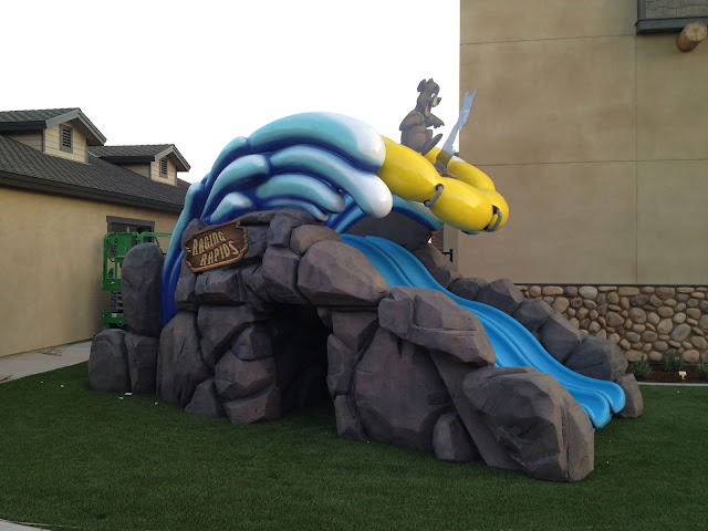 Kids Church Theming - 3D Sculpted Water Slide