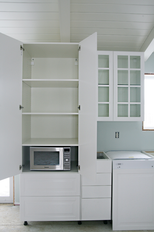 Iheart organizing iheart kitchen reno ikea cabinet for Pantry cabinet ikea
