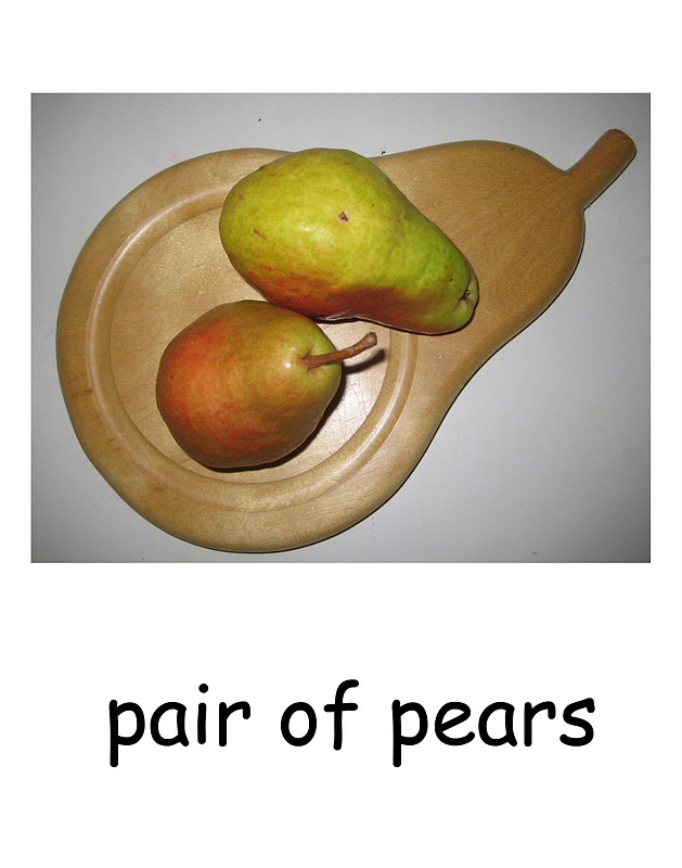 Collagemama S Itty Bitty Blog Pairs Of Pears And Polar Bears