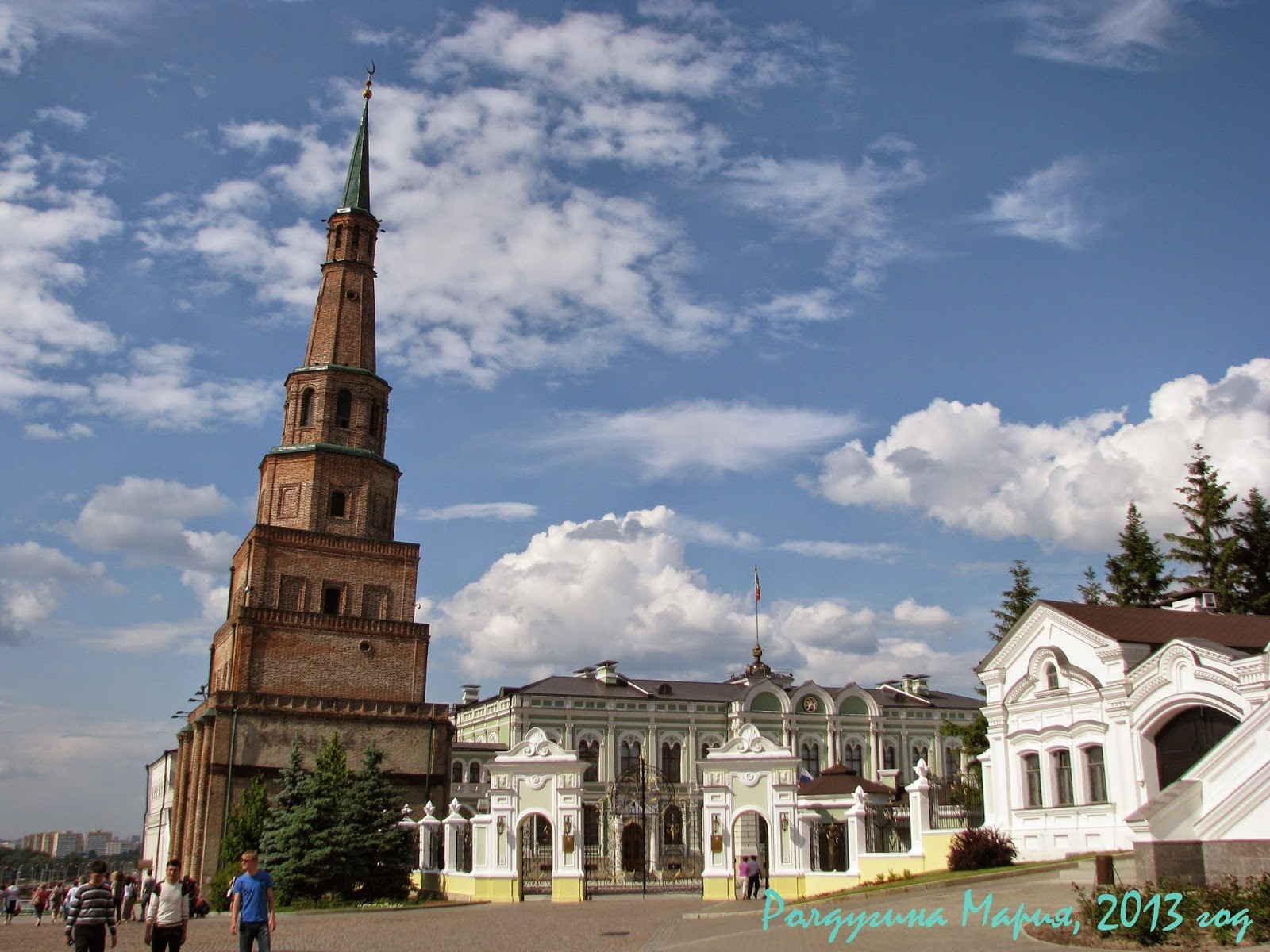 Казань Сююмбике Кремль фото