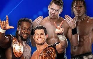 imagen donde se ven los campeones en parejas de WWE en el combate que tendran en night of champions