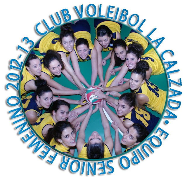 Club Voleibol La Calzada: Equipo senior femenino 2012-13