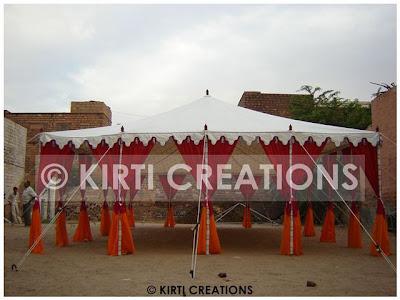 Garden Indian Tent