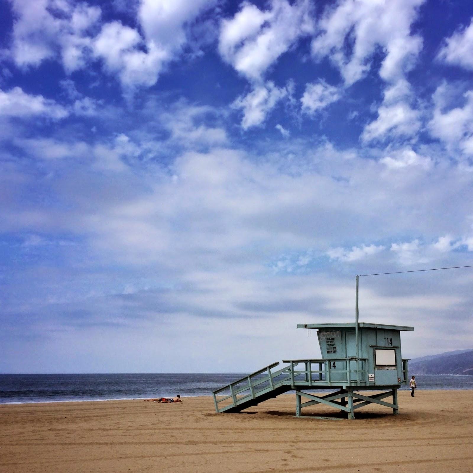 Santa Monica Beach California by Jessica Mack aka SweetDivergence